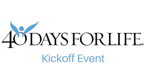 40 DAYS FOR LIFE FALL CAMPAIGN BEGINS SEPTEMBER 22