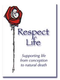 October 3 is Respect Life Sunday!