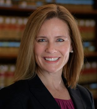 Congratulations Judge Amy Coney Barrett, '86