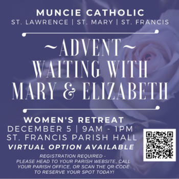 Women's Retreat - Advent - Waiting with Mary and Elizabeth