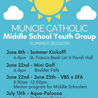 Middle School Youth Group - Summer Programs