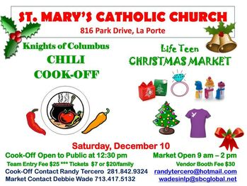 Chili Cookoff and Christmas Market