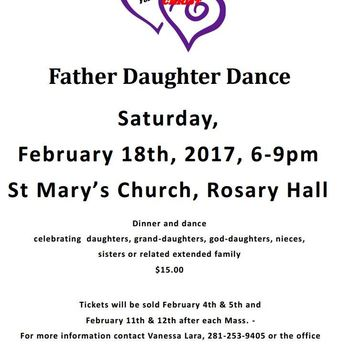 Couples for Christ presents Father Daughter Dance