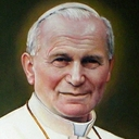 "St. Pope John Paul II Gloriously Singing the ""Ave Maria"""