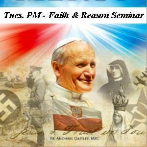 NO Faith & Reason Seminar tonight