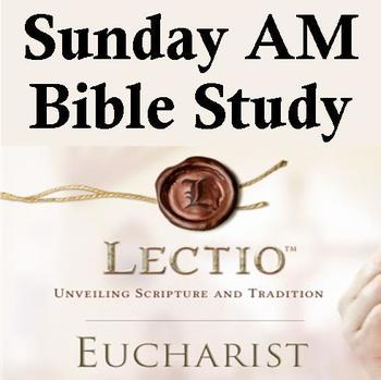 NO Class - NO Sunday AM Bible Study