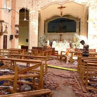 Sri Lanka attacks: More than 200 killed as churches and hotels targeted