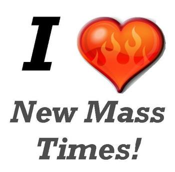New Mass Times start this weekend.