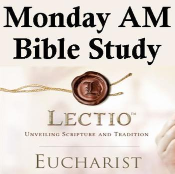 Monday AM Bible Study - No Class