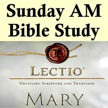 NO Sunday AM Bible Study today