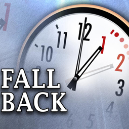 Please turn your clocks Back!