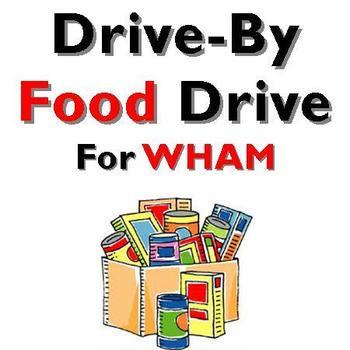 Drive-By Food Drive for WHAM