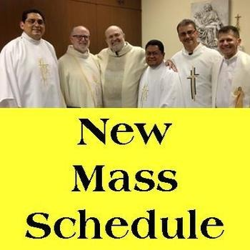 NEW Weekend & Weekday Masses