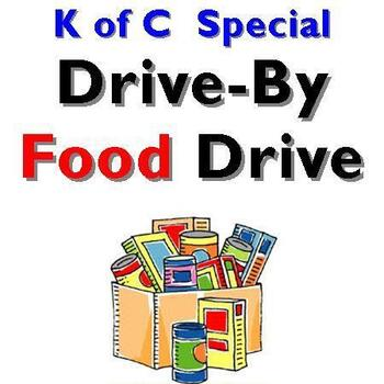 Knights of Columbus Drive-By Food Drive