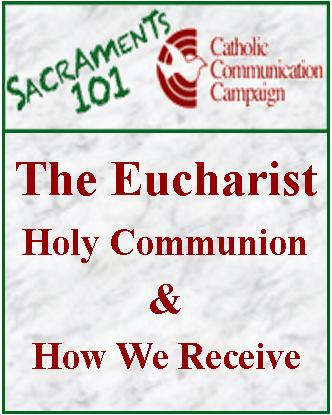 <center><font color=#2B60DE><b>How to Receive<br>Holy Communion</b></font></center>
