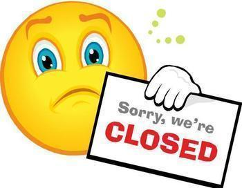 <font color=#C11B17><b>Church and Office Closed</font></b>