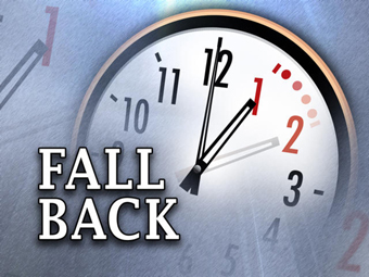 Remember to turn your clocks back!