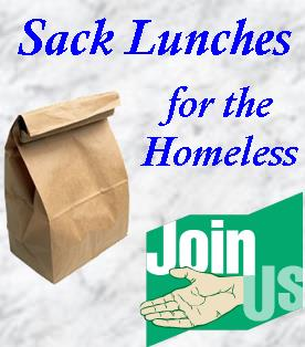 Sack Lunches for the Homeless