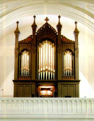 The Historic Jadine Organ