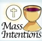 The Mass Intentions Book for 2022 will open soon.