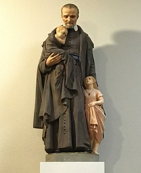 Say hi to St. Vincent and St. Anthony statues