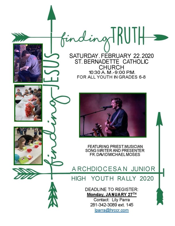 Junior High Youth Rally Registration