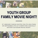 Youth Group Family Movie Night