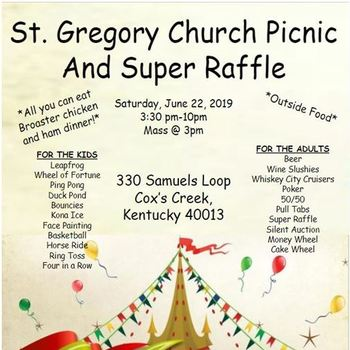 St. Gregory Picnic and Super Raffle