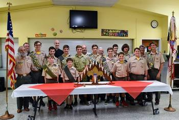 Troop 490 Fall Court of Honor