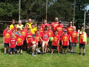 Boy Scout - Cub Scout Kickball Game