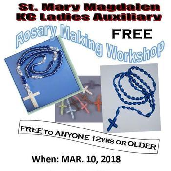 Rosary Making Workshop