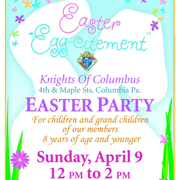 Knights of Columbus Easter Party
