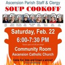 Parish Staff/Clergy Soup Cookoff
