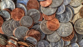 Collecting change for 'Keep the Heat On'