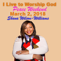 I Live To Worship God - Peace Concert