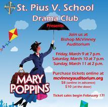 St. Pius V School Drama Club Presents Mary Poppins