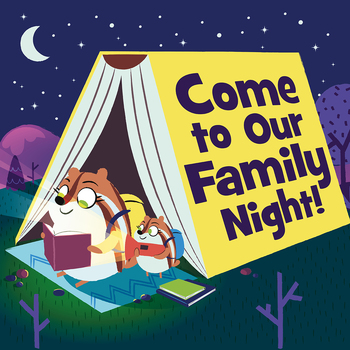 Family Night at the Book Fair