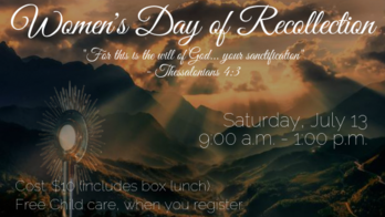 Women's Day of Recollection