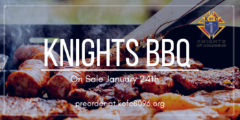 Knights of Columbus BBQ Sale