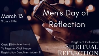 Men's Day of Reflection