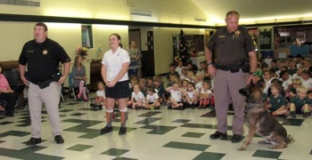 RED RIBBON WEEK: Visit from Baldwin County Sheriff's Office