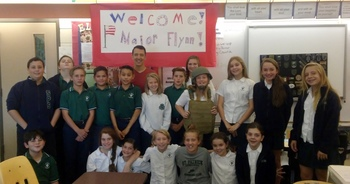 Welcome Major Flynn