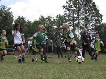 Year End Soccer Game