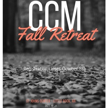 Catholic Campus Ministries Fall Retreat