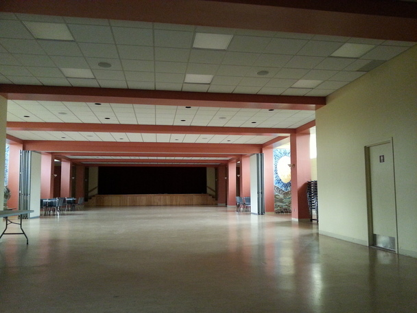 Main Hall & Stage