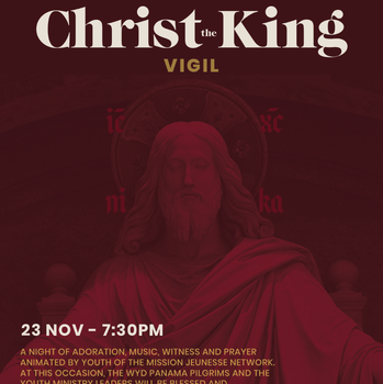 Prayer Vigil for the Feast of Christ the King