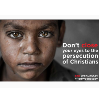 Red Wednesday - Annual Mass for Persecuted Christians - Nov.20 at 7:30 pm