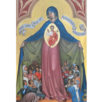 Icon Of Our Lady, Help Of Persecuted Christians