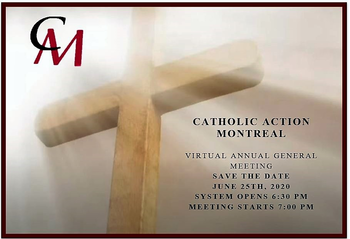 Catholic Action Virtual Annual Meeting - June 25