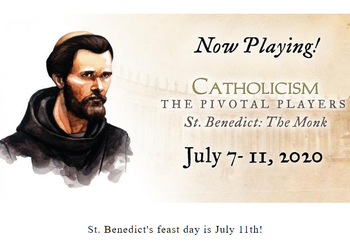 Watch Bishop Barron's full feature-length film on St. Benedict!